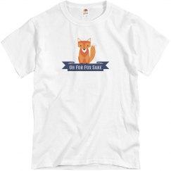 Fox T-shirt blue