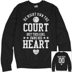 He Owns the Basketball Court But I Own His Heart GF