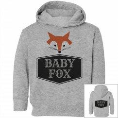 MATCHING SET Baby Fox Hoodie