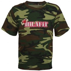 Youth Pink Camo Shirt
