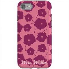 Mrs. Custom iPhone Case