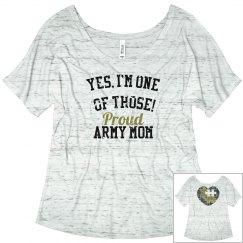 Army mom proud