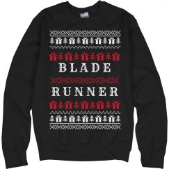 Agent Deckard Holiday Ugly Sweater
