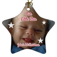 Baby Photo Ornament