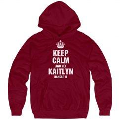 Let Kaitlyn handle it