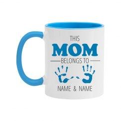 Color Custom Mom Mug