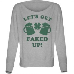 Fake Patty's Day Long Sleeve Gal