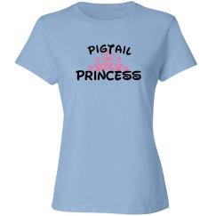 Pigtail Princess Tee