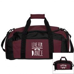 Caroline's ballet bag