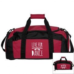 Alice's ballet bag