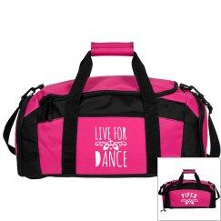 Piper's ballet bag