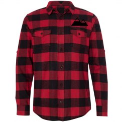 Men's mountains flannel