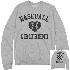 Cozy Custom Baseball Girlfriend