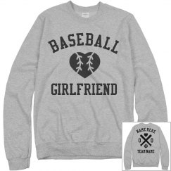 Cozy Custom Baseball Girlfriend