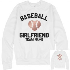 Custom Metallic Baseball Girlfriend