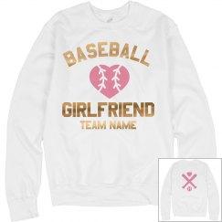 Custom Metallic Baseball Girlfriend