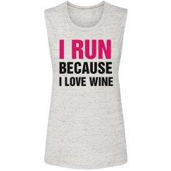 I love Running And Wine