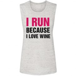 I love Running And Wine