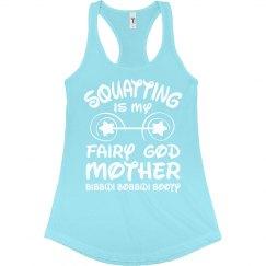Princess Squatting Workout Tank