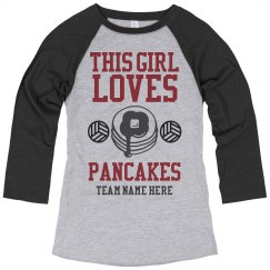 Volleyball Pancakes Are Awesome