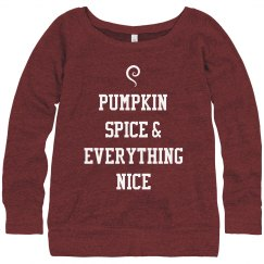Pumpkin Spice Is Nice