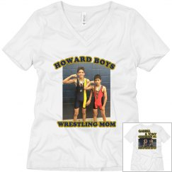 Boys wrestling Mom