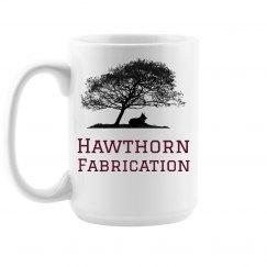 HF coffee mug