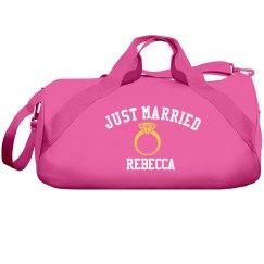 Just Married Duffel Bag