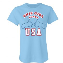 This Girl Loves USA