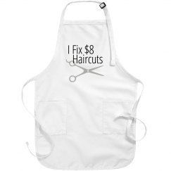 I fix $8 Haircuts salon stylist apron