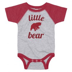 Infant Little Red Bear
