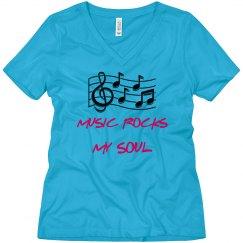 WOMEN'S MUSIC TEE SHIRT