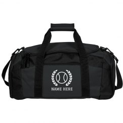 Custom Tennis Duffel Bag