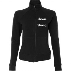 Choose Strong Women's Track Jacket