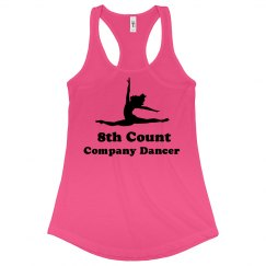 Company dancer tank