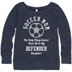 My Custom Soccer Mom Sweatshirt