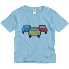 Fathers Day Son Shirt Car