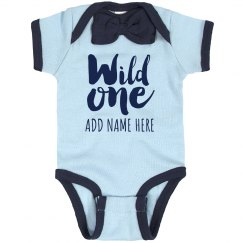 Custom Name Wild One Baby