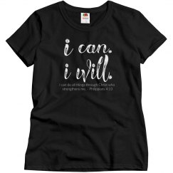 I can. I will.