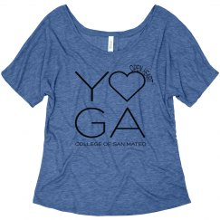 OHY Slouchy T - blue