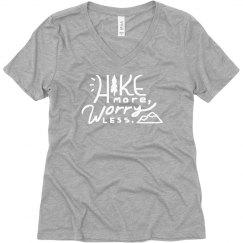 Hike More, Worry Less Boyfriend Tee