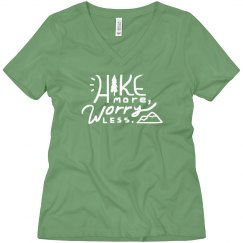 Hike More, Worry Less Boyfriend Tee