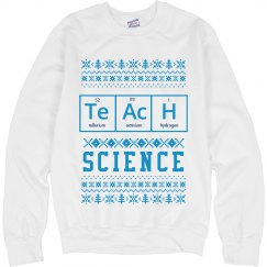 Teaching Science Ugly Sweater