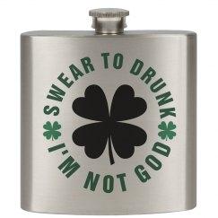 St. Patty's Drunk Irish God