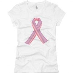 Tough Pink Ribbon