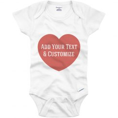 Custom Onesie For Mothers Day