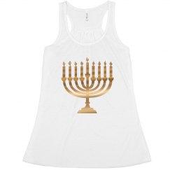 Gold Hanukkah