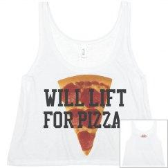 Will Lift 4 Pizza