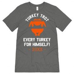 Turkey Trot Thanksgiving Design