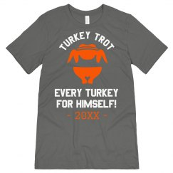 Turkey Trot Thanksgiving Design